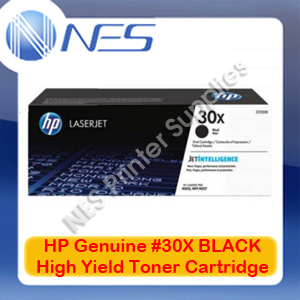 HP Genuine #30X BLACK High Yield Toner Cartridge for LaserJet Pro M203dn/M203dw/M227d/M227fdn/M227fdw/M227sdn 3.5K [CF230X]