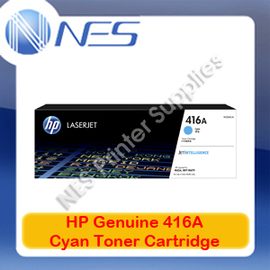 HP Genuine 416A Cyan Toner Cart for M479fnw/M479dw/M454nw/M454dw/M454dn 2.1K