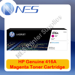 HP Genuine 416A Magenta Toner Cart for M479fnw/M479dw/M454nw/M454dw/M454dn 2.1k
