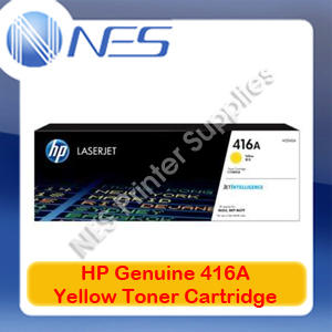 HP Genuine 416A Yellow Toner Cart for M479fnw/M479dw/M454nw/M454dw/M454dn 2.1k