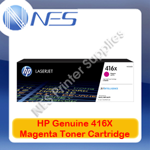 HP Genuine 416X Magenta Toner Cart for M479fnw/M479dw/M454nw/M454dw/M454dn 6K