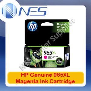 HP Genuine #965XL Magenta Ink Cart for Officejet 9028/9026/9020/9019/9018 1.6K