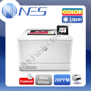 HP LaserJet Pro M454dn Network Color Laser Printer+Duplex+AirPrint [W1Y44A] 2019 model