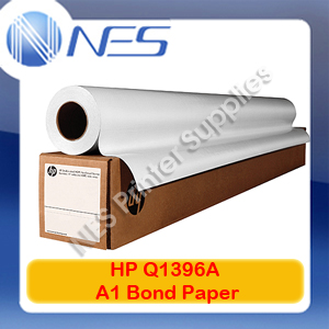 Hp Q1396A Universal A1 Bond Paper 610 mm x 45.7 m for T120 Large Format Printer