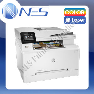 HP Laserjet M283FDN 4in1 Color Laser Network Printer+Duplex+ADF+FAX /w #206A Toner Set [7KW74A]