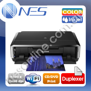 Canon IP7260 Photo Wireless Inkjet Printer+Auto Duplexer+CD/DVD Direct Printing+AirPrint /w PGI650/CLI651 Ink [PIXMA IP4950 New Replacement]