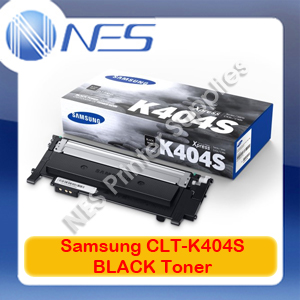 Samsung Genuine CLT-K404S BLACK Toner Cartridge for SL-C430W/SL-C480FW (1.5K) (SU113A)