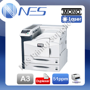 Kyocera ECOSYS FS-9530DN A3/A4 Mono Laser High Speed Network Printer+Duplexer (RRP:$5196)