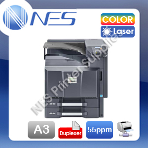 Kyocera ECOSYS FS-C8650DN A3/A4 High Speed Color Laser Network Printer+Duplexer (RRP:$6755)