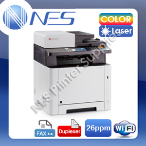 Kyocera ECOSYS M5526cdw 4-in-1 Color Laser Wireless Network Printer+FAX+Duplexer (RRP:801.90)