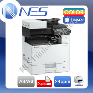 Kyocera ECOSYS M8124CIDN 3-in-1 A3/A4 Color Laser Network Printer+ADF+Auto Duplex (RRP$4035)