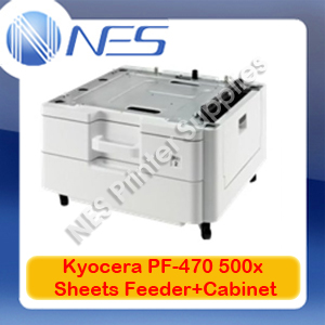 Kyocera Genuine PF-470 500x Sheet Paper Tray+Cabinet for FS-C8520MFP/FS-6525MFP
