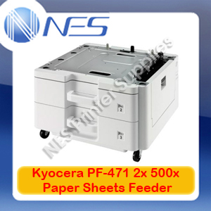 Kyocera Genuine PF-471 2x 500 Sheets Paper Tray Feeder for FS-C8525MFP/8520/6525MFP (RRP$1384.85)
