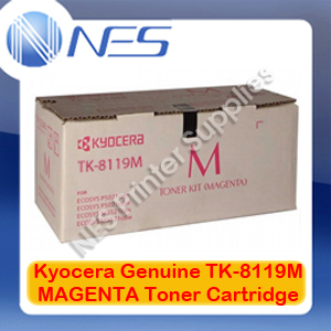 Kyocera Genuine TK-8119M MAGENTA Toner Cartridge for M8124cidn/M8130cidn (6K)