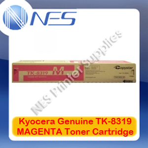 Kyocera Genuine TK-8319M MAGENTA Toner Cartridge for TASKalfa 2550ci (6K Pages)
