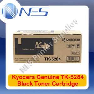 Kyocera Genuine TK-5284K BLACK Toner Cartridge for ECOSYS P6235CDN/M6635CIDN