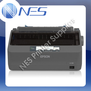 Epson LX-350 9-PIN Monochrome Dot Matrix Printer (P/N: C11CC24041) 390cps