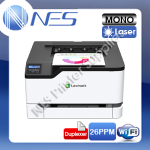 Lexmark C3326dw Wireless Color Laser Printer+Duplex+ 1-Yr Onsite Wty 26ppm