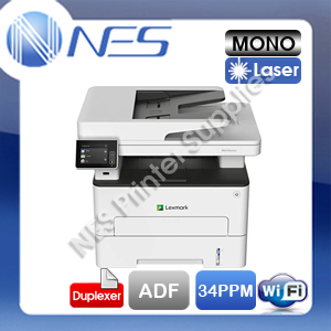 Lexmark MB2236adwe Multifunction Wireless Mono Laser Printer+ADF+Duplex