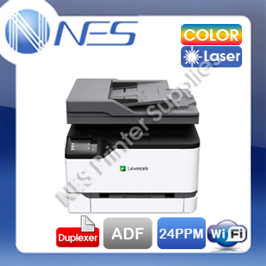 Lexmark MC3326adwe Multifunction Wireless Color Laser Printer+ADF+Duplex 24ppm