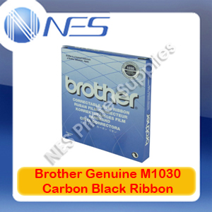 Brother Genuine M1030 Carbon Black Correctable Ribbon for AX-325/WP-600/LW-1
