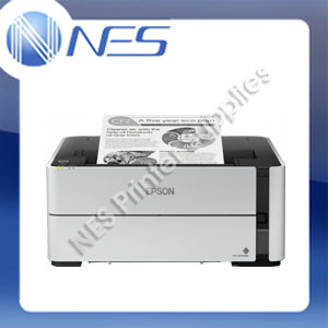 Epson EcoTank ET-M1180 Mono Ethernet CONTINUOUS INK Printer 20PPM - P/N:C11CG94509