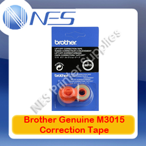 Brother M3015 Lift-Off Correction Tape for AX-325/CE-25/EM-200/WP-600 Typewriters