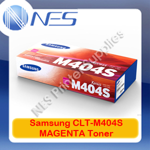 Samsung Genuine CLT-M404S MAGENTA Toner Cartridge for SL-C430W/SL-C480FW (1K) (SU247A)