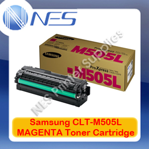 Samsung Genuine CLT-M505L MAGENTA High Yield Toner Cartridge for SL-C2620DW/SL-C2670FW/SL-C2680FX (3.5K) SU303A
