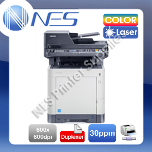 Kyocera ECOSYS M6030cdn 3-in-1 Color Laser Network MFP Printer+Auto Duplex 30PPM (RRP:$1015)