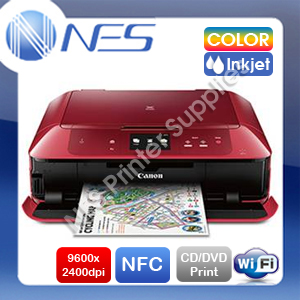 Canon PIXMA MG7765 All-in-One Wireless Inkjet Printer+CD/DVD Print+NFC [RED 33]