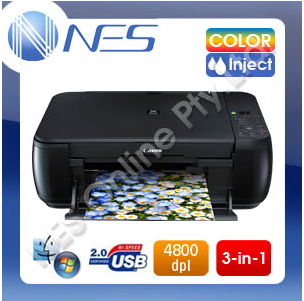 Canon MP230 Color Inkjet 3-in-1 Multifunction Printer with 510/511 Starter Ink [MP230]