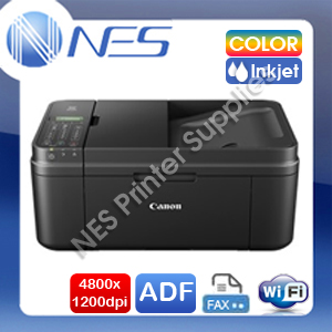 Canon PIXMA MX496 4-in-1 Wireless Inkjet MFP Printer+ADF+FAX+AirPrint w/ PG-645+CL-646