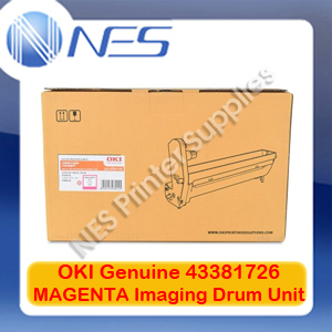 OKI Genuine 43381726 MAGENTA Imaging Drum Unit for C5550 MFP/C5800/C5900 (20K)