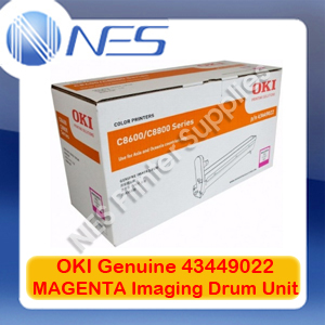 OKI Genuine 43449022 MAGENTA Imaging Drum Unit for C8600/C8800 (20K)