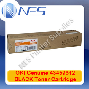 OKI Genuine 43459312 BLACK Toner Cartridge for C3300/C3400/C3600N 2.5K RRP:$142