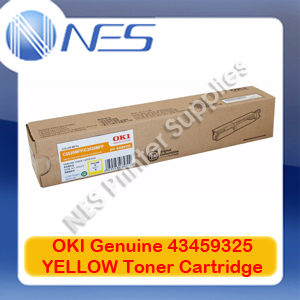OKI Genuine 43459325 YELLOW Toner Cartridge for C3520MFP/C3530MFP (2K)