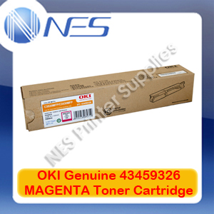 OKI Genuine 43459326 MAGENTA Toner Cartridge for C3520MFP/C3530MFP (2K)