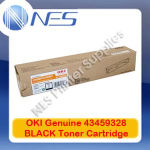 OKI Genuine 43459328 BLACK Toner Cartridge for C3520MFP/C3530MFP (2.5K)