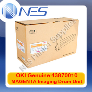 OKI Genuine 43870010 MAGENTA Imaging Drum Unit for C5650/C5750 (20K)