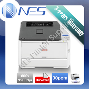 OKI C332dn Color Laser Network Printer+Duplex+BONUS 3 Years Warranty P/N:46403103