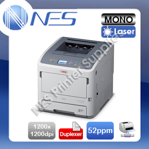 OKI ES7131dn A4 Mono Laser Network High Speed Printer+Auto Duplex [PN:45487116]