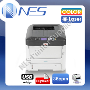 OKI ES7412dn Color Laser Network Printer+Auto Duplexer [PN:46406106DN]