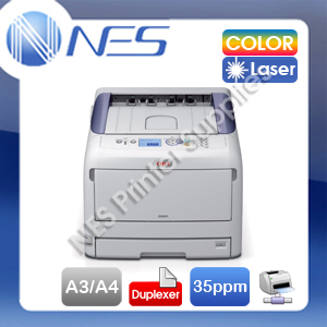 OKI ES8431dn A3/A4 Color Laser Network Printer+Auto Duplex+3-Year Warranty P/N:44705906dn