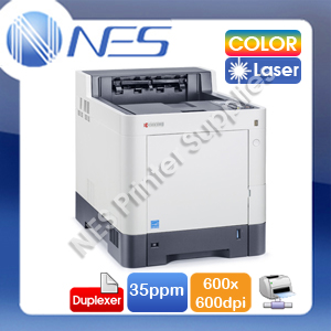 Kyocera ECOSYS P6035cdn Network Color Laser Printer+Duplex+SD Card Slot TK-5154 (RRP:$1032.90) free upgrade to P6235cdn