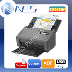 Brother PDS-5000 A4 Color Document Sheetfed USB High Speed Scanner+Duplex+ADF