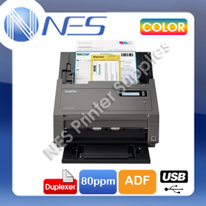 Brother PDS-6000 A4 Color Document Sheetfed High Speed Scanner+Duplex+ADF 80PPM