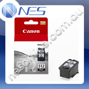 Canon Genuine PG512 FINE BLACK High Yield Ink Cartridge for Canon IP2700/MP/230/MP240/MP250/MP260/MP270/MP280/MP480/MP490/MP495/MX320/MX330/MX340/MX350/MX360/MX410/MX420 (400 Pages Yield)