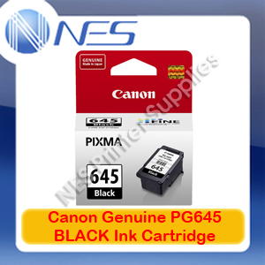 Canon PG-645 Genuine Black Ink Cartridge Standard Yield for MG2560 Printer 180xPages [PG645]