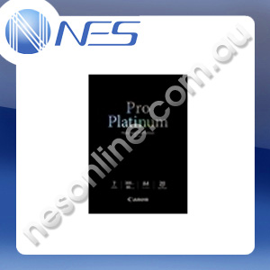Canon A4 Photo Paper Pro Platinum 300gsm (20x sheets) [P/N:PT101A4]